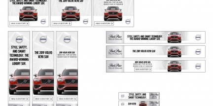 XC90 Display Ads